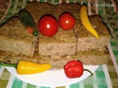 Kocky z bravčovej pečene s ryžou (fotorecept) - Recept