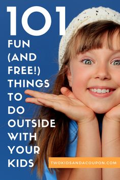 Looking for fun and free things to do outside with your kids? Here are some of our favorite to do together!