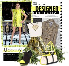 """Pattern mix"" by a-polyvore-girl ❤ liked on Polyvore"