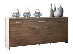 STEEN Sideboard 200 Mörk Ek i gruppen Inomhus / Förvaring / Sideboards hos Furniturebox (100-56-71602)