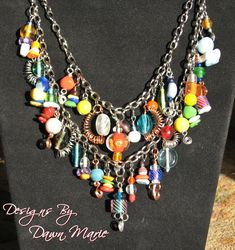 handmade beaded jewelry | Handmade Beaded Necklaces | Designs By Dawn Marie - Bead Embroidered ...