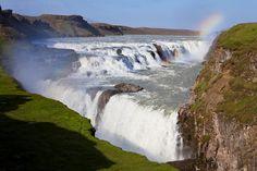 와우~ 땅속으로 떨어지는 폭포(아이슬란드, 굴포스)