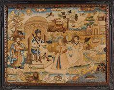 17th centuryNeedlework picture