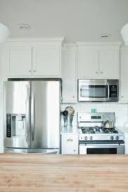 Fridge Next To Stove Use Space Between As Room For A Vase