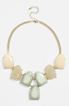 BP. Stone Statement Necklace (Juniors) available at #Nordstrom