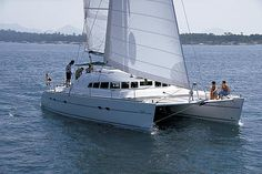 Charter catamaran Lagoon 470 , 4 cabins, 8+2 berths. Available for charter in Italy, Spain and Greece .