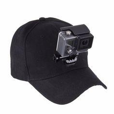 PULUZ Outdoor Sun Hat Topi Baseball Cap Holder Mount for Gopro #CameraAccessories