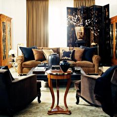 Ralph Lauren Home #Rue_Royale Collection 18 - Living room
