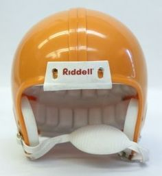Riddell VSR4 Blank Mini Football Helmet Shell - Sunflower