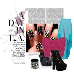 """Night Out"" by dominicaworth on Polyvore"
