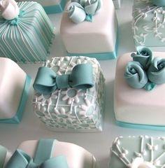 Tiffany Blue, Ahna's favorite ;)