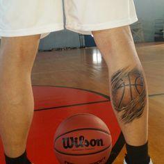 Basketball tattoo #tattoo #basketball #megasalexandrosilioupolis