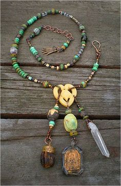 Scarab Amulet Necklace