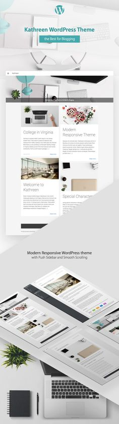 Kathreen WordPress Theme by ShakeDesign on @creativemarket