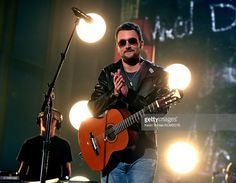 Recording artist Eric Church performs onstage during the 51st Academy of Country Music Awards at MGM Grand Garden Arena on April 3,…