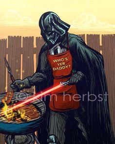 Star Wars Art by Kim Herbst