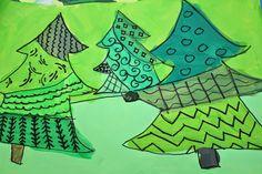 Kim & Karen: 2 Soul Sisters: Monochromatic Christmas Trees