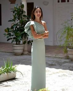 118 top wedding guest designer dresses for modern girls – page 1 Sexy Wedding Dresses, Wedding Dress Sleeves, Elegant Wedding Dress, Elegant Dresses, Formal Dresses, Bleu Violet, Trendy Fashion, Womens Fashion, Fashion Trends