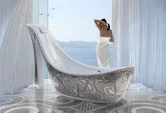 Christian Louboutin badekar, der mangler bare den røde sål! (-;
