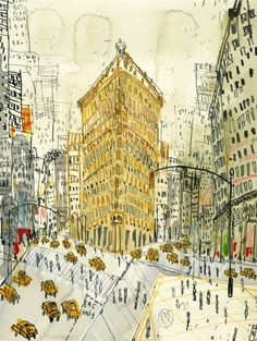 Flatiron Building, New York:  Clare Caulfield