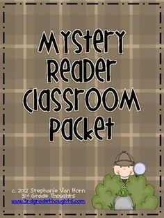 Mystery Reader Classroom Packet - mystery readers? who wouldn't be excited!