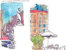 Urban Sketchers: More Sketches from Barcelona