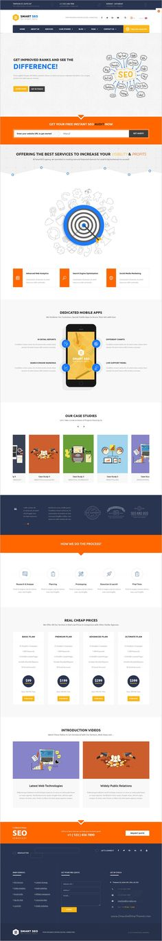 SmartSeo a modern and flexible #WordPress theme designed for SEO company, #Marketing #Agency and their clients website download now➩  https://themeforest.net/item/smart-seo-modern-seo-marketing-wordpress-theme/18706036?ref=Datasata