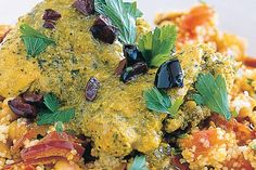 This aromatic couscous salad is the perfect addition to a Moroccan style feast.