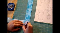 Quilt binding- How to make & attach it - YouTube