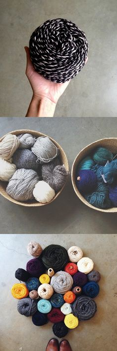 Q for You collected: Yarn management! Knitting Blogs, Knitting Yarn, Knitting Patterns, Knitting Ideas, Yarn Colors, Free Pattern, Weaving, Management, Pure Products