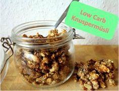Low Carb Knuspermüsli