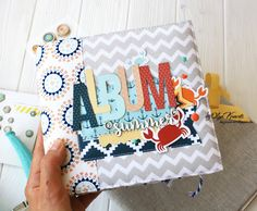 Y mi primer video! Making Waves, Fancy Pants, Fabric Covered, Mini Albums, Scrapbooking, Journals, Nautical, Notes, American