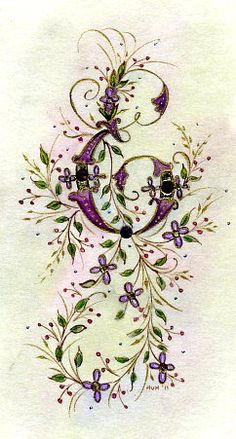 Most of my artistic background is in Victorian needlework. I still have a few of my embroidery books in the studio although I rarely pick u...
