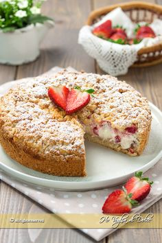 Crystal Farms Cheese's scrumptious for breakfast or break, a raspberry cream cheese coffee cake recipe featuring our Wisconsin Original Cream Cheese. Cheesecake Recipes, Cookie Recipes, Dessert Recipes, Victoria Sandwich Cake, Cream Cheese Coffee Cake, Valentine Desserts, Roast Chicken Recipes, Food Cakes, Popular Recipes