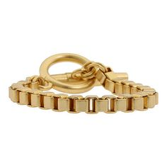 Juicy Couture single oversized toggle bracelet