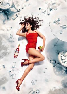 Campari Calendar 2013 - photo by Kristian Schuller starring Penelope Cruz