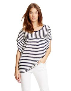 Oversize Tee- Boden. This Tee is so flattering and the shape and print are very modern.