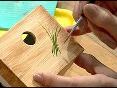 técnica imitación madera =) con acrilico