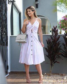 Best Summer Fashion Part 26 Star Fashion, Moda Fashion, Womens Fashion, Paris Fashion, Casual Dresses, Fashion Dresses, Summer Outfits, Summer Dresses, Casual Looks