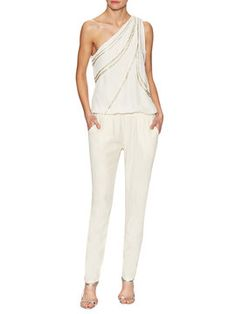 Clara One Shoulder Jumpsuit from Ramy Brook on Gilt