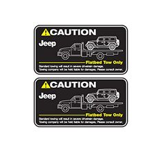 Detailkorea 車 牽引注意 のステッカー デカール 艶消し黒 Black Matte for Jeep Wrangler 海外直送品 Detailkorea http://www.amazon.co.jp/dp/B01D3HFA42/ref=cm_sw_r_pi_dp_E586wb07NMM04