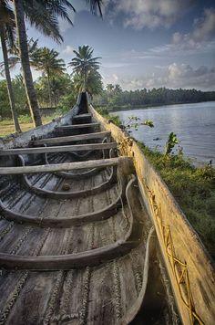 Kappil lake, Kerala, India