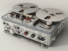 NAGRA IV-S Portable Stereo Tape Recorder - probably the most successful and long lived portable professional tape recorder ever made.