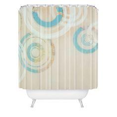 Stacey Schultz Circle World 1 Shower Curtain | DENY Designs Home Accessories
