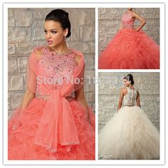 Find More Quinceanera Dresses Information about New Designer Two Piece Quinceanera Dresses With Scarf /Shawl Crystal Ruffles Long ball gown Sweet 16 Dresses vestidos de 15 anos,High Quality dress qipao,China design you own wedding dress Suppliers, Cheap designer long evening dress from True Love Bridal dress Co., Ltd.  on Aliexpress.com