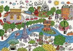 TOUCH this image: petit guide interactif de Paris by Mme Fle