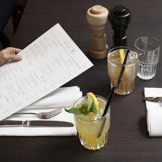 Menü und Drinks im Baltho Restaurant und Bar im Marktgasse Hotel Niederdorf | creme zürich