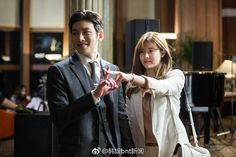 "[Drama] ""Suspicious Partner"" Ji Chang Wook & Nam Ji Hyun catching up with 'suspicious contacts'"