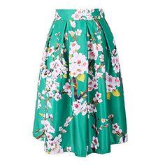 LAEMILIA Women's High Waist Floral Jacquard Pleated A Lin... https://www.amazon.co.uk/dp/B073RHJHDR/ref=cm_sw_r_pi_dp_U_x_NpDaBbT7CBW00