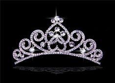 2013 New Princess Crystals Wedding Brides Crown Tiaras